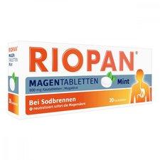 Dr. Kade Riopan Mint Magentabletten Kautabletten (20 Stk.)