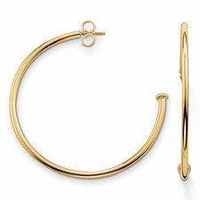 Thomas Sabo Karma Beads Steckkreolen gold (CR591-413-12)