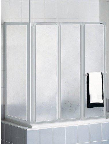 schulte badewannenfaltwand 3 teilig mit seitenwand preisvergleich ab 169 99. Black Bedroom Furniture Sets. Home Design Ideas