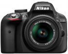 Nikon D3300 Kit 18-55 mm [Nikon G VR II] (schwarz)