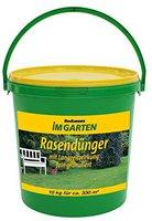 Beckmann - Im Garten Premium Rasendünger mit Langzeitwirkung 10 kg