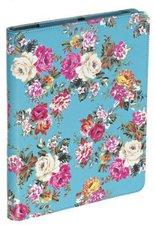 Accessorize Case (iPad 2/3/4/Air) blue floral