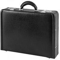 d & n Business Line Aktenkoffer aus Leder 45 cm (2663) schwarz