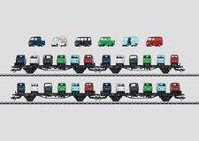 Märklin Autotransportwagen-Set Sm 24 DB (45099)