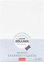 Zöllner Spannbetttuch Frottee weiß (70 x 140 cm)