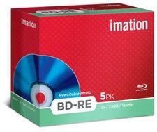 Imation BD-RE 25 GB 135min 4x 5er Jewelcase