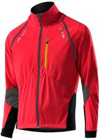 Löffler Bike Zip-Off-Jacke WS Softshell Light rot