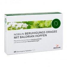 Medicom Nobilin Beruhigungsdragees mit Baldrian Hopfen überzogene Tabletten (60 Stk.)