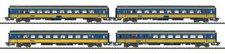 Trix Set 4 Personenwagen Inter-City NS (31141)