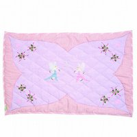 Win Green Fairy Cottage - Floor Quilt (groß)