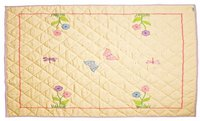 Win Green Butterfly Cottage - Floor Quilt (groß)