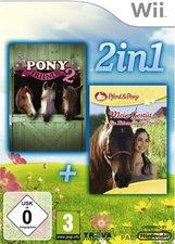 Pony Friends 2 + Mein Gestüt (Wii)