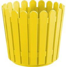 Emsa Landhaus Blumenkübel 30x27cm - gelb