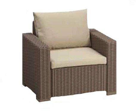 Polyrattan lounge sessel  Allibert California Lounge Sessel (Polyrattan) Preisvergleich ab 99 €