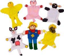 Bigjigs Toys Bauernhof Fingerpuppen