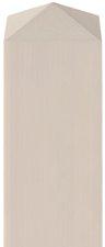 BM Massivholz vierkant Zaunpfosten BxH: 9 x 120 cm Lärche