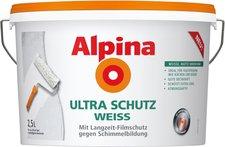 Alpina Farben Ultra Schutz Weiss 2,5 l
