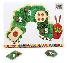 Rainbow Designs Kleine Raupe Holz Puzzle
