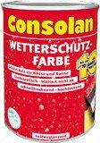 Consolan Wetterschutz-Farbe 2,5 l braun