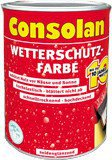 Consolan Wetterschutz-Farbe 2,5 l schwedenrot