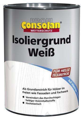 Consolan Isoliergrund Weiß 10 l