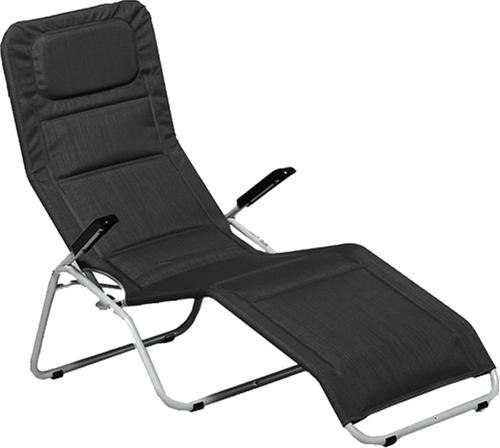 MFG Freizeitmöbel Pool 2 Bäderliege (Stahl-Kunstfaser) schwarz günstig