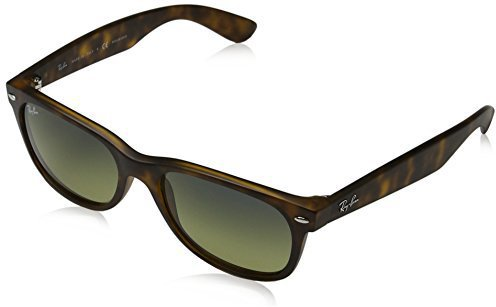 new wayfarer rb2132  Ray Ban New Wayfarer RB2132 6052 52 (top black on transparent ...