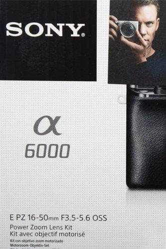 Sony Alpha 6000 Kit 16-50 mm (schwarz)