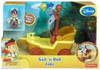 Fisher Price Jake und die Nimmerland Piraten - Sail 'n Roll Jake Boot