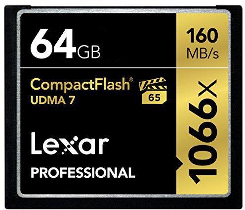 Lexar CompactFlash 64GB Pro 1066x (LCF64GCRBEU1066)