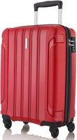 Travelite Colosso 4-Rollen-Trolley 55 cm rot