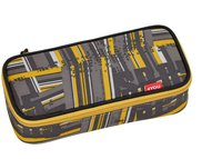 4You Igrec Pencil Case mit Geodreieck stripes