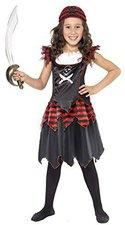 Smiffys Piratenmädchen Totenkopf Kostüme (32341)
