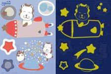 Pabobo Stickers Lion