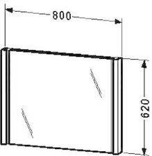 Duravit 2nd floor Spiegel mit Beleuchtung (2F964705959)