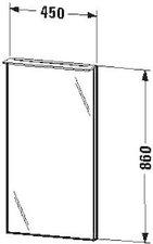 Duravit X-Large Spiegel beleuchtet (XL729008686)