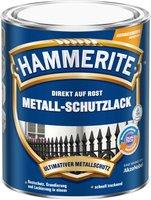 Hammerite Metall-Schutzlack glänzend schwarz 2,5 Liter