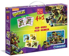Clementoni Edukit 4 in 1 Ninja Turtles