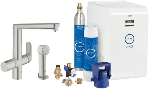 grohe blue k7 starter kit jetzt g nstig online kaufen sparen. Black Bedroom Furniture Sets. Home Design Ideas