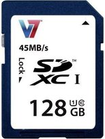 V7 microSDXC 128GB Class 10 (VASDX128GUHS1R-2E)