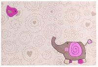 sigikid Happy Zoo Elephant beige 70x140cm