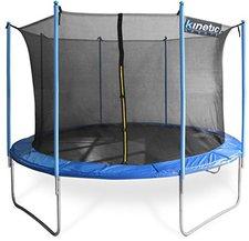 Kinetic Sports Trampolin 370 cm inkl. Sicherheitsnetz