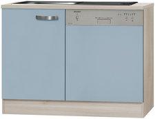Optifit Spülenschrank Skagen blau (110 cm)