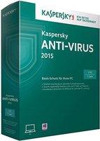 Kaspersky Anti-Virus 2015 (1 User) (1 Jahr) (DE) (Win) (Box)