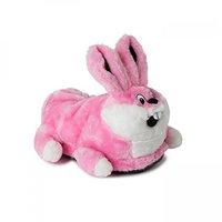 funslippers Plüsch Hausschuhe Hase pink
