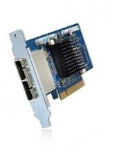 QNAP SAS Dual-wide-port Storage Expansion Card (SAS-6G2E-D)