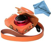 MegaGear Ever Ready Leather Camera Case for Canon SX170