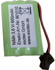 Esotec NiMH 3,6V/600mAh, mit Adapter-Stecker