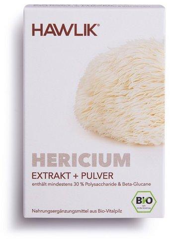 Hawlik Hericium Extrakt + Pulver Kapseln (60 Stk.)
