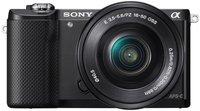 Sony Alpha 5000 Kit 16-50 mm (schwarz) (ILCE-5000LB)